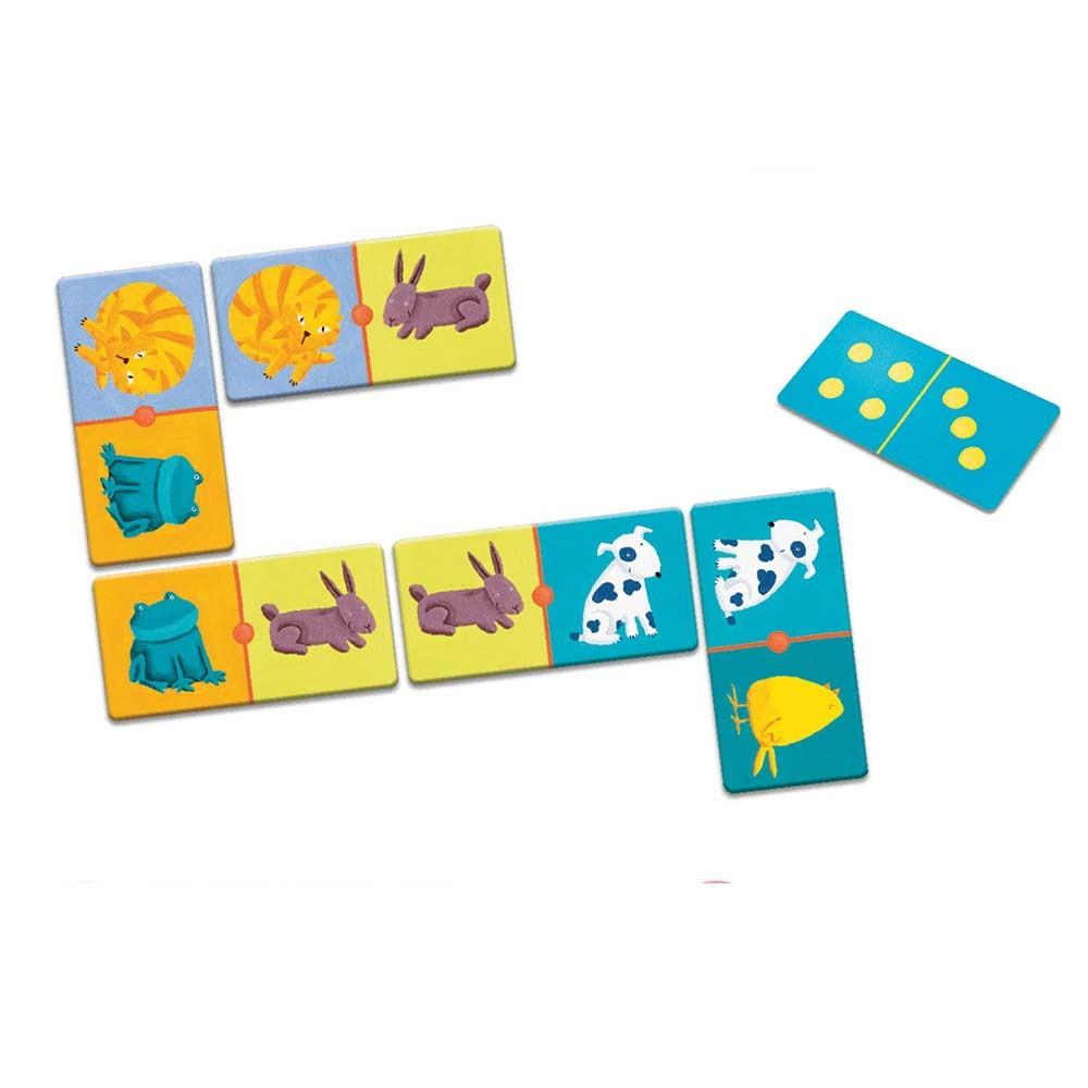 Domino animali-colori
