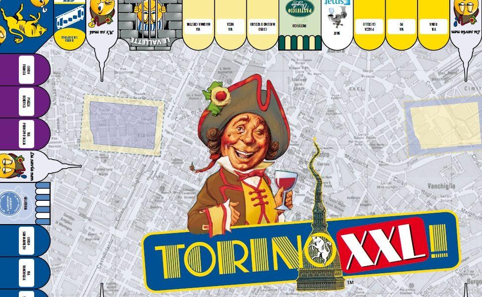 9d944781b8 Torino XXL (versione rinnovata di Torinopoli) è il gioco completamente  dedicato a Torino! Offre un tabellone di grandi dimensioni con le strade  più famose ...
